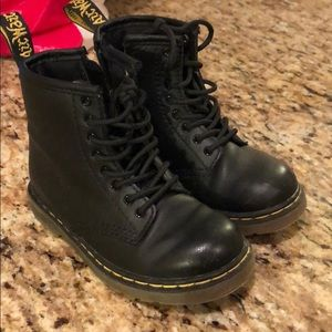 Kids Dr Martens boots size 9 toddler